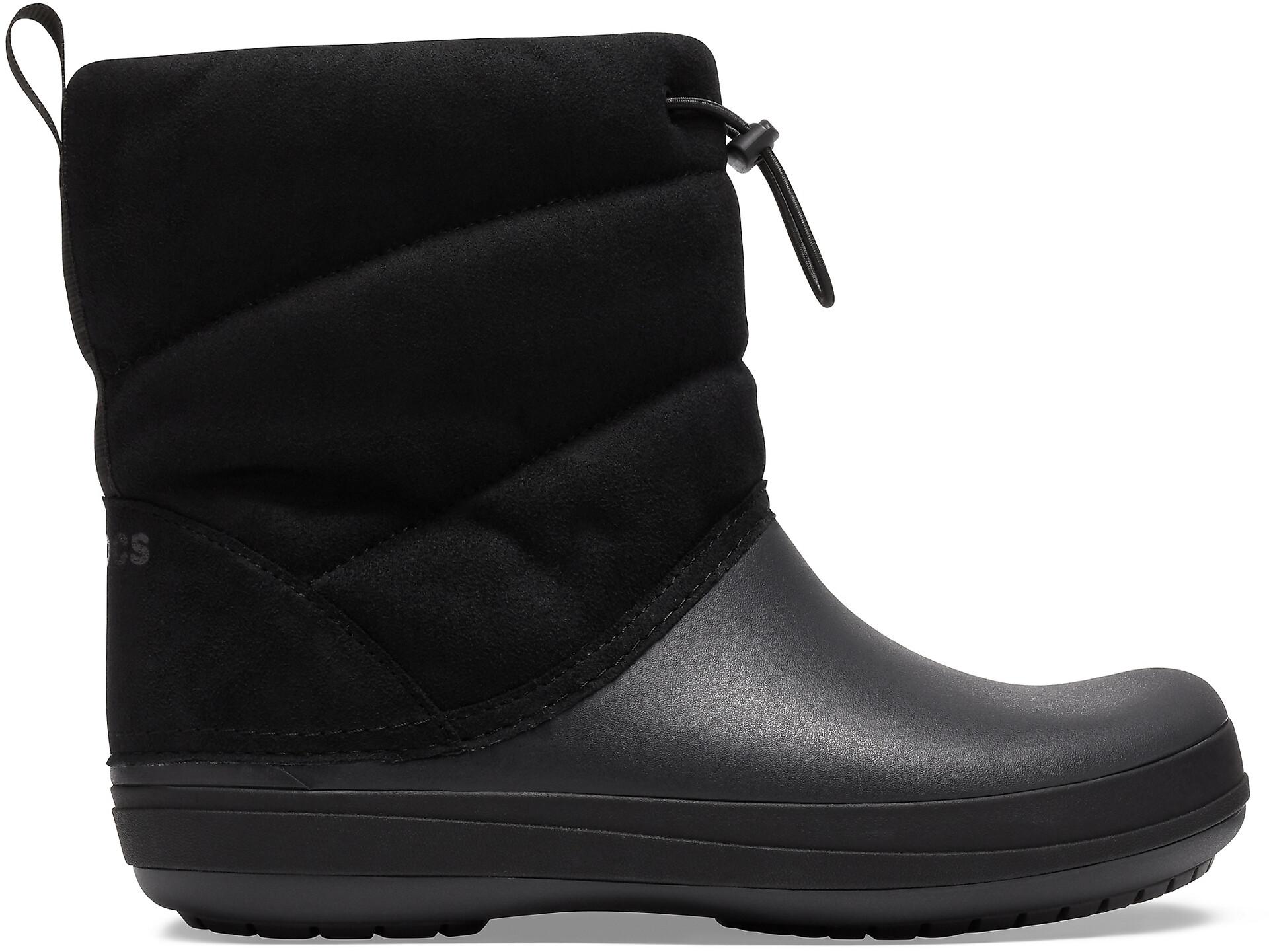 Crocs Crocband Puff Boots Women black